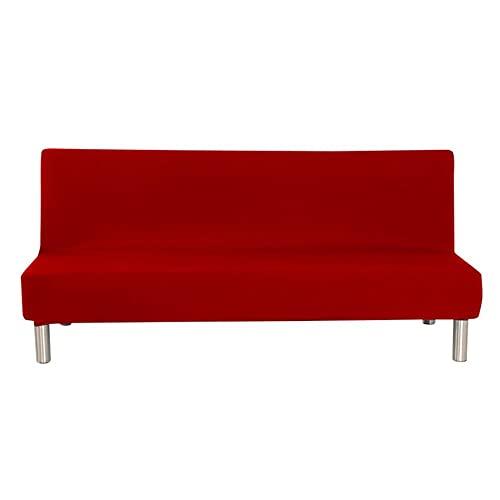 USEFGSBSGGAIUFH Color sólido sin brazos sofá cama cubierta estiramiento protector elástico sofá sofá protector se adapta para sofá cama plegable TT-b-S, China