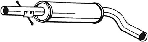 Bosal 105-109 Mittelschalldämpfer