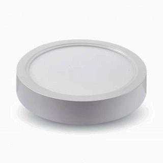 Panneau LED rond - Diamètre : 225 mm - Puissance : 18 W - Couleur : 4500 K.