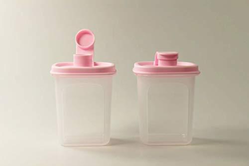 TUPPERWARE Slim Line Jarra 350 ml (2) Botella rosa 38114