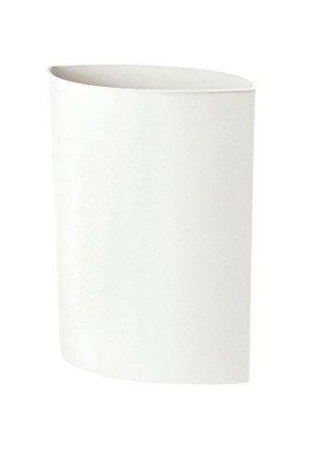 Authentics Maxi Lip Corbeille à Papier, Polypropylène, weiß, 20 l