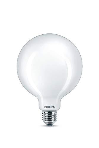 Philips ampoule LED Globe 120mm E27 100W Blanc Chaud Dépolie, Verre