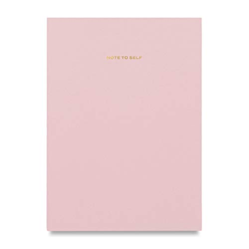 Wit & Delight - Note to Self Series Notebook/Journal | Size 6.5 X 8.25 I 80 Lined Pages | 100 GSM Quality Paper I Pink
