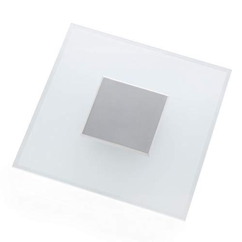 Lampenwelt LED Deckenleuchte 'Lole' dimmbar (Modern) in Alu aus Aluminium u.a. für Wohnzimmer & Esszimmer (4 flammig, A+, inkl. Leuchtmittel) - Lampe, LED-Deckenlampe, Deckenlampe, Wohnzimmerlampe
