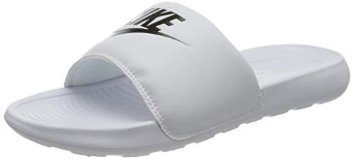 Nike W VICTORI One Slide, Scarpe da Ginnastica Donna, White/Black-White, 38 EU