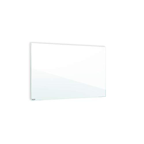 ETHERMA LAVA® Infrarotheizung, Glasheizkörper, 750 W, 63 x 130 x 3 cm, Oberfläche aus 6 mm ESG-Sicherheitsglas, Made in Austria, TÜV, 5 Jahre Garantie, Farbe: weißgrün, LAVA2-GLAS-750-WG