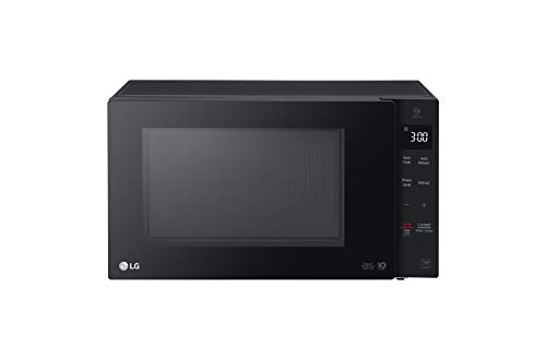 LG LMC1275SB NeoChef Countertop Microwave, 1.2 Cu. Ft. Capacity, Smart Inverter Technology Evenly Heats and Defrosts Food, EasyClean Anti-bacterial Co, Black
