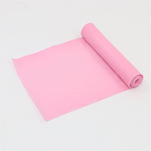 XEAXPPP 1.5m TPE Bandas de Resistencia de Yoga Pialtes Pialtes Banda de Goma Yoga Transporte Expander Fuerza Elástica Bandas para Crossfit Gym Sports (Color : Pink)
