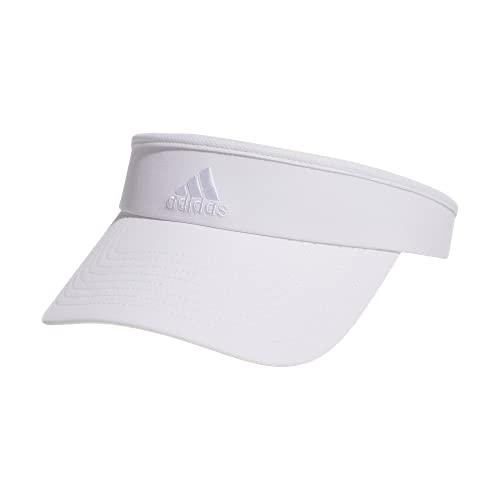 adidas Women's Match Visor, White/White, ONE SIZE