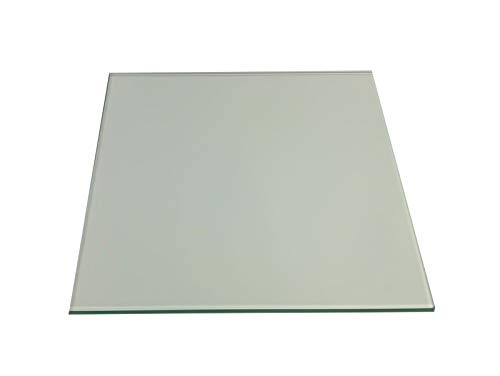 Regale4You Glasboden 8 mm stark, 12 Größen, Glas 3 Farben klar, satiniert oder schwarz /80x20 cm Klar-3 Glasscheiben