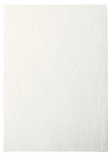 Leitz 33650 Deckblatt Leinen, A4, Karton, 100 Stück, weiß