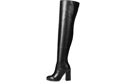 GIARO Stiefel in Übergrößen Schwarz Freya Black Matte große Damenschuhe, Größe:43
