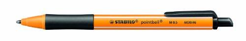 Druck-Kugelschreiber - STABILO pointball - Einzelstift - schwarz
