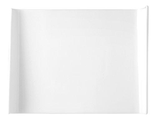 HOTELWARE Assiette Cadre, 25 cm, Porcelaine, Blanc
