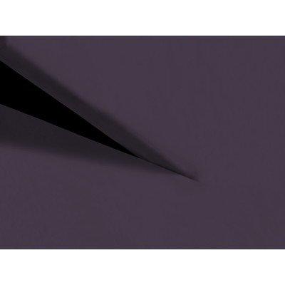 Heckett Lane Perkal Uni Hoeslaken Split-Topper 200x220+12 cm - Velvet Purple