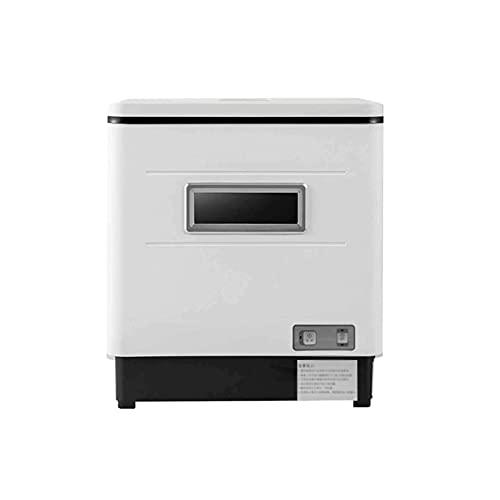 Bdesign Home Desktop Installing-Free Lavaplatos automáticos 6 Conjuntos de Tres en uno Pequeño Lavavajillas Smart Three-One Small Smart Lavavajillas