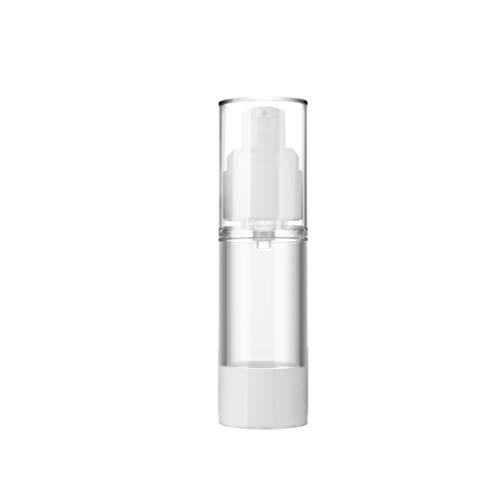 Zhou Bouteille à Vide Distributeur Transparent, Vaporiser Emulsion sous-Bouteille Portable Presse Type de Kit Voyage Bouteilles cosmétiques yan (Color : A, Size : 30ml)