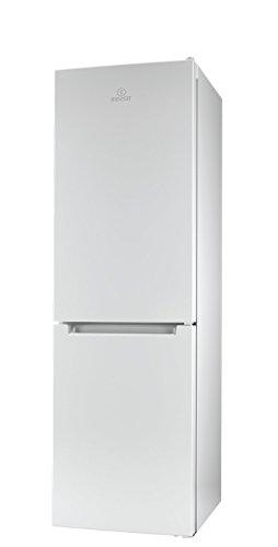 Indesit LI8 FF2 W Kühl-Gefrier-Kombination / 189 cm Höhe / 255 kWh / 215 Liter Kühlteil / 90 Liter Gefrierteil / NoFrost, nie mehr abtauen / nur 0,699 kWh / 24 Stunden / weiß
