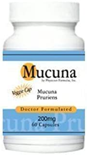 4 Bottles Mucuna Pruriens, L-DOPA, Natural Dopamine, Mood Support, 200mg, 60 Vcaps - Formulated by Ray Sahelian, M.D