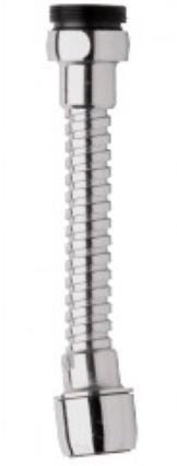 MONTSERRAT ATOMIZADOR Flexible METALICO para GRIFERIA Ahorro 50% (Pack 2 Unidades)