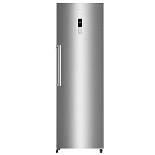 FRIGORIFICO INFINITON CL-1580S INOX (Cooler, Una Puerta, 375 litros, Alto 185 cm, A+/F INVERTER, NO FROST, Independiente)