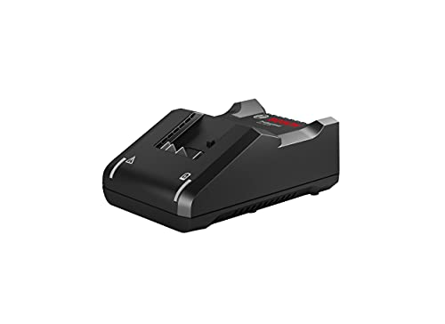 Bosch Professional 2607226252 Caricabatterie rapido voltaggio Multiplo Gal 18V-40 (Universale, per l'uso con Tutti Gli Utensili Professionali Bosch 18V, Accessorio Batteria)