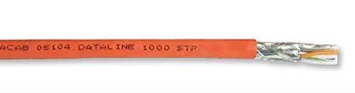 FABER dataline LAN-Kabel 1000 STP 4X2X AWG 23 PiMF FRNC OR Ringe von 3 bis 100m (100m)