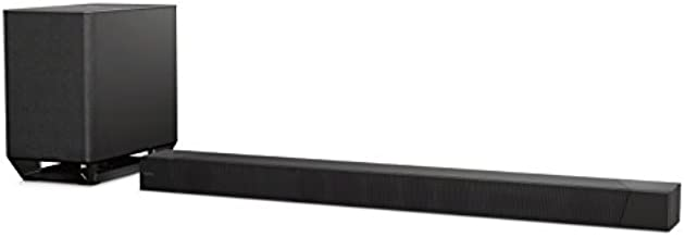 Sony ST5000 7.1.2ch 800W Dolby Atmos Soundbar with Wireless Subwoofer (HT-ST5000), Surround Sound Home Theater experience Black