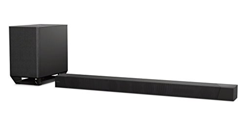 Sony ST5000 7.1.2ch 800W Dolby Atmos Soundbar with Wireless Subwoofer (HT-ST5000), Surround Sound Home Theater experience,Black