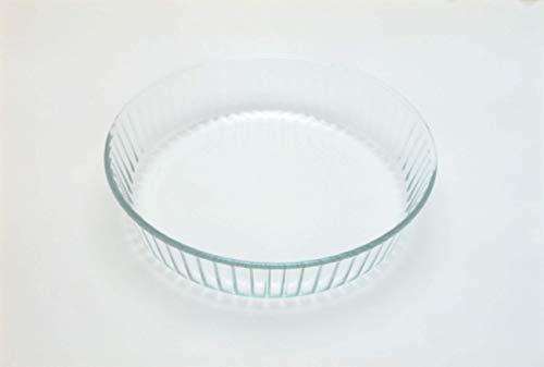 Pyrex Bake & Enjoy Plato de flan cocido de vidrio de alta resistencia 26 cm.