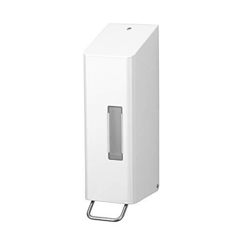 OPHARDT Hygiene 1415413 SanTRAL NSU 11 P/F Weißer Schaum Seifenspender, 1200 ml, Edelstahl