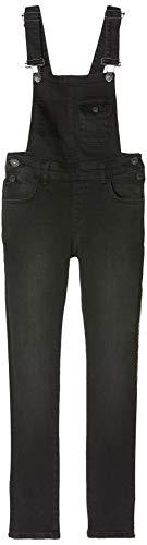 LTB Jeans Mädchen Noemy X G Latzhose, Schwarz (Rine Wash 51934), 110 (Herstellergröße: 5)