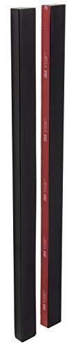 Gedotec - Tirador de puerta de cristal para pegar (300 mm, 1...