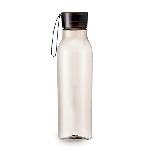 LPWCAWL Botella de plástico para Beber con a Prueba de Fugas Flip Tapa Tapa Fitness Entrenamiento Botella de Agua Botella de Beber Ajuste al Aire Libre,H_550ml