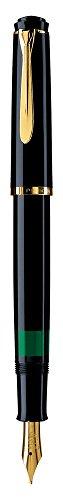 Pelikan M200 Penna stilografica Classic 200 pennino F, negro