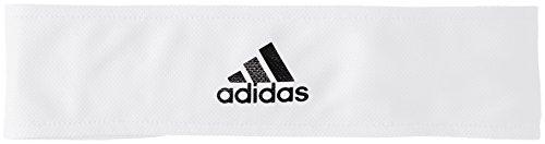 adidas Herren Tennis Stirnband, White/Silver Metallic/Black, OSFM