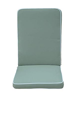 Field & Hawken – Sage Outdoor Chair Cushions with Back (Pack of 2) – Luxury Garden...