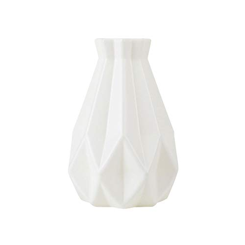 Vase Blumenvasen Klein Kunststoff Geometrische Dekorative Vase Moderne Tischvase, Blumentopf Blumenkorb Blumenvase Dekoration Home Nordische Dekoration, Für Zuhause, Büro Oder Hochzeit