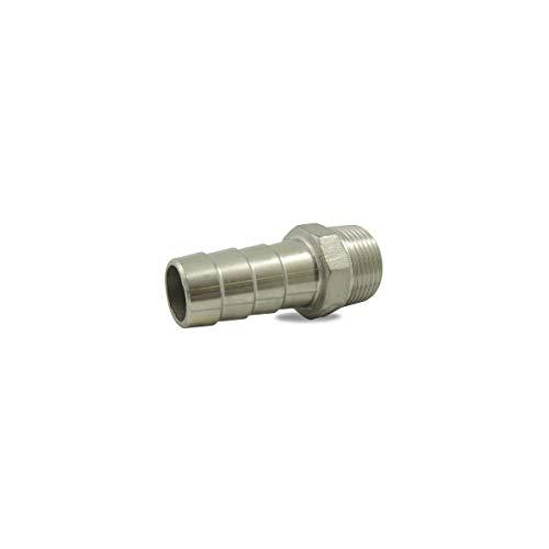 Ezfitt - Douille cannelée male en inox 316 - Ø A: 3/4'' | Ø B: 19-20mm