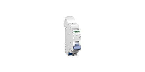 Schneider Electric 16727 DuoLine XE klikschakelaar, 1-polig, C-kromming, 83 mm hoog, 18 mm breed, 70 mm diep, 20 A, 230 V