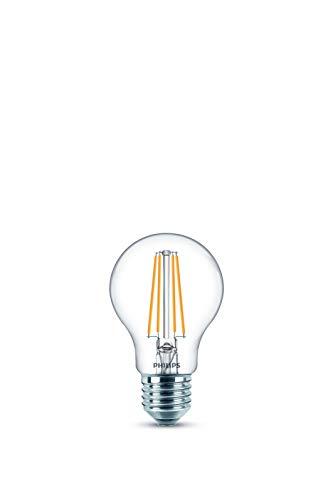Philips Lampadina LED Goccia Filamento, 2 Pezzi, Equivalente a 60 W, Attacco E27, Luce Bianca Fredda, non Dimmerabile