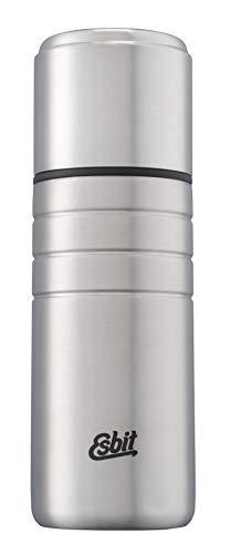 Esbit Isolierflasche Majoris   Edelstahl   BPA-Frei   Schwarz & Silber   1L & mehr   Zu Hause, im Büro & unterwegs