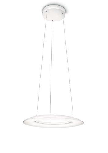 Philips Fluck Suspension LED 8 lampes luminaire d'intérieur Blanc Métal