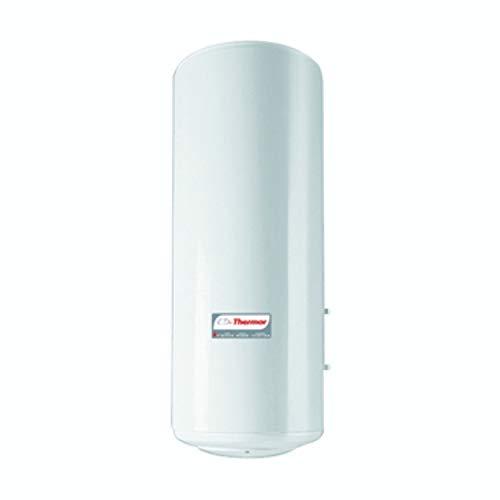 Interacumulador mural Thermor IAV Concept 100 L, con capacidad de 100 litros, resistencia OP, 59 x 57 x 87 centímetros, color blanco (Referencia: 264017)