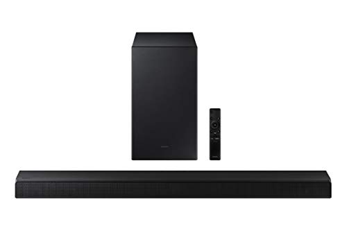 Samsung HW-A450/ZA 2.1ch Soundbar with Dolby Audio (2021) , Black