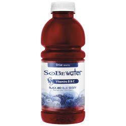 SoBe Lifewater 12 - 20floz bottles (Black & Blueberry)