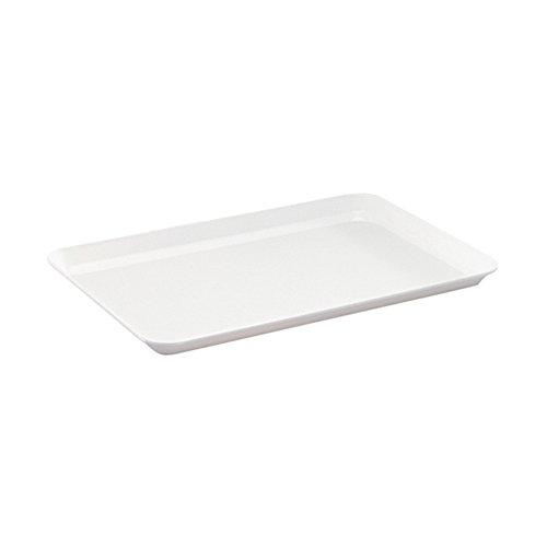 WACA® 1313-710 Auslageplatte Präsentationsplatte 35x24x1,7 cm weiß