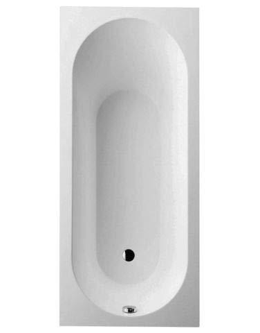 Villeroy & Boch Badewanne Rechteck Oberon 170x70cm weiß (alpin), UBQ177OBE2V-01