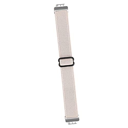 Abaodam Correa de repuesto para reloj DIY Color Correa de reloj ajustable Correa de reloj pulsera para mujeres hombres beige
