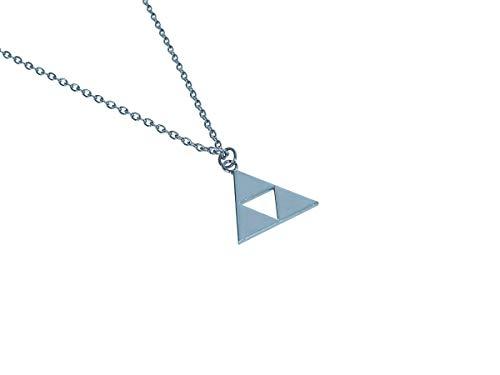 CoolChange Halskette mit Triforce Anhänger aus Metall | Kette von Link für Zelda Fans